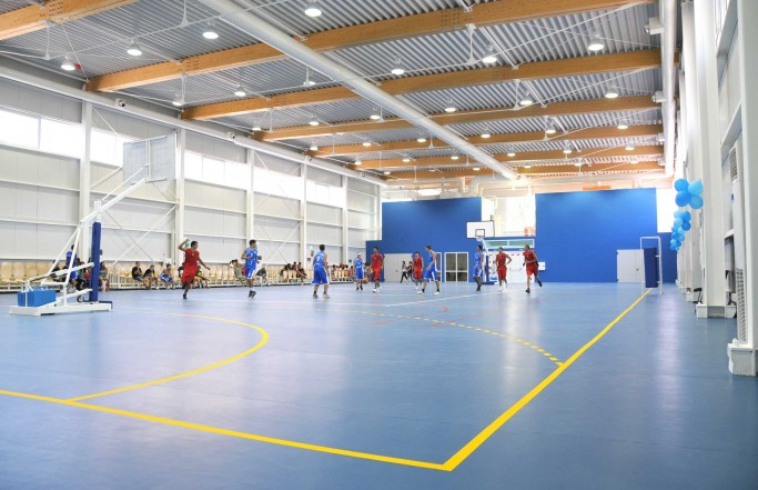 Multifunction school sports hall IEG Varna