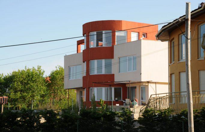 Дом водолазов в Тюленово
